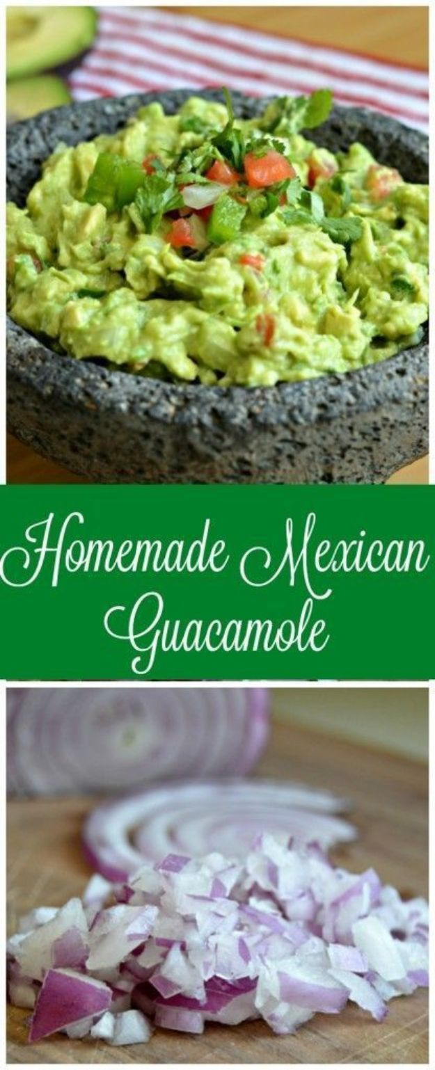 Best Mexican Food Recipes - Guacamole Recipe – Homemade Authentic Mexican Version - Mexican Beef Soup - Authentic Mexican Foods and Recipe Ideas for Casseroles, Quesadillas, Tacos, Appetizers, Tamales, Enchiladas, Crockpot, Chicken, Beef and Healthy Foods - Desserts and Dessert Ideas Like Churros , Flan amd Sopapillas #recipes #mexicanfood #mexicanrecipes #recipeideas #mexicandishes http://diyjoy.com/mexican-food-recipes