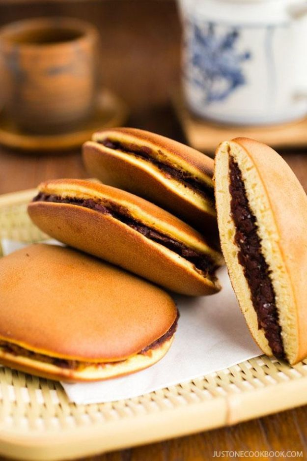 Best Pancake Recipes - Japanese Red Bean Pancakes - Homemade Pancakes With Banana, Berries, Fruit and Maple Syrup - How To Make Pancake Mix at Home - Gluten Free, Low Fat and Healthy Recipes - Breakfast and Brunch Recipe Ideas - Silver Dollar, Buttermilk, Make Ahead and Quick Versions With Strawberries and Blueberries #pancakes #pancakerecipes #recipeideas #breakfast #breakfastrecipes http://diyjoy.com/pancake-recipes