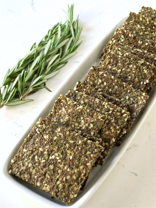 Best Kale Recipes - Kale Rosemary Super Seed Crackers - Healthy Green Vegetable Cooking for Salads, Soup, Lunches, Stir Fry and Dinner - Kale Chips. Salad, Shredded, Cooked, Fresh and Sauteed Kale - Vegan, Vegetarian, Keto, Low Carb and Lowfat Recipe Ideas #kale #kalerecipes #vegetablerecipes #veggies #recipeideas #dinnerideas http://diyjoy.com/best-kale-recipes