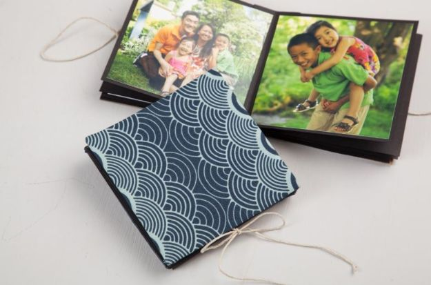 DIY Photo Albums - Keepsake Photo Books - Easy DIY Christmas Gifts for Grandparents, Friends, Him or Her, Mom and Dad - Creative Ideas for Making Wall Art and Home Decor With Photos