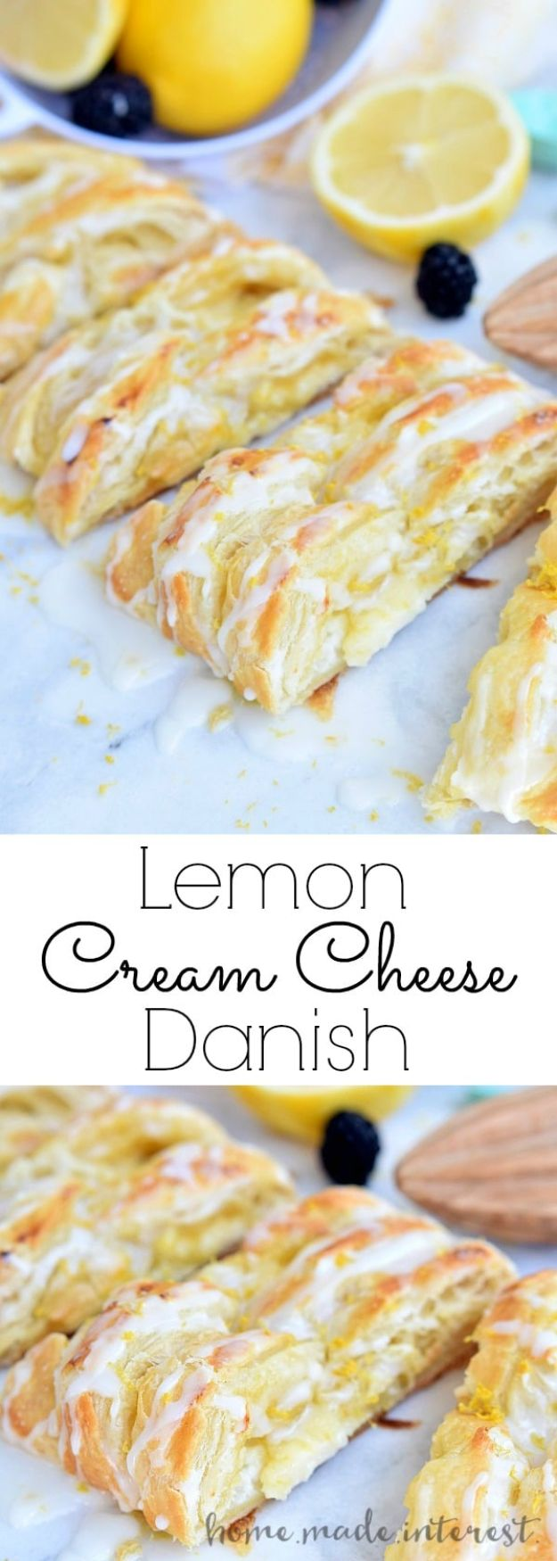 Best Recipes for the Cheese Lover - Lemon Cream Cheese Danish - Easy Recipe Ideas With Cheese - Homemade Appetizers, Dips, Dinners, Snacks, Pasta Dishes, Healthy Lunches and Soups Made With Your Favorite Cheeses - Ricotta, Cheddar, Swiss, Parmesan, Goat Chevre, Mozzarella and Feta Ideas - Grilled, Healthy, Vegan and Vegetarian #cheeserecipes #recipes #recipeideas #cheese #cheeserecipe