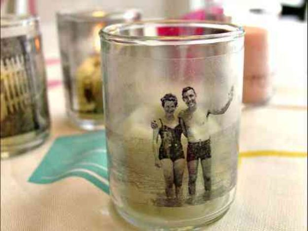 DIY Gifts for Him - Memory Candles - Homemade Gift Ideas for Guys - DYI Christmas Gift for Dad, Boyfriend, Husband Brother - Easy and Cheap Handmade Presents Birthday #diy #gifts #diygifts #mensgifts