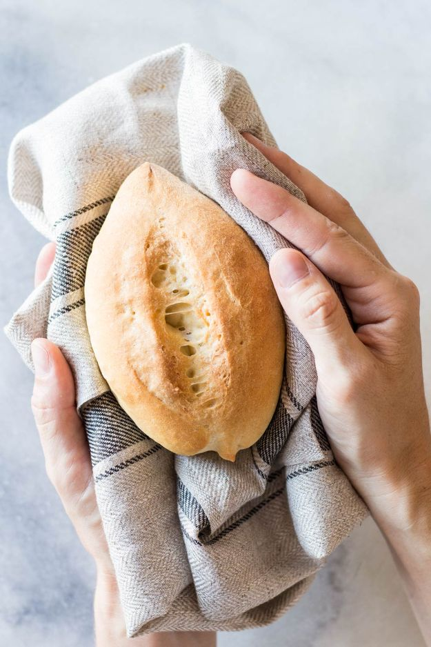 Best Mexican Food Recipes - Mexican Dinner Rolls or Bolillos - Authentic Mexican Foods and Recipe Ideas for Casseroles, Quesadillas, Tacos, Appetizers, Tamales, Enchiladas, Crockpot, Chicken, Beef and Healthy Foods - Desserts and Dessert Ideas Like Churros , Flan amd Sopapillas #recipes #mexicanfood #mexicanrecipes #recipeideas #mexicandishes http://diyjoy.com/mexican-food-recipes