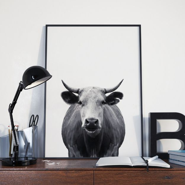 Free Printables For Your Walls - Minimal Cow Wall Art - Easy Canvas Ideas With Free Downloadable Artwork and Quote Sayings - Best Free Prints for Wall Art and Picture to Print for Home and Bedroom Decor - Signs for the Home, Organization, Office - Quotes for Bedroom and Kitchens, Vintage Bathroom Pictures - Downloadable Printable for Kids - DIY and Crafts by DIY JOY #wallart #freeprintables #diyideas #diyart #walldecor #diyhomedecor #freeprintables