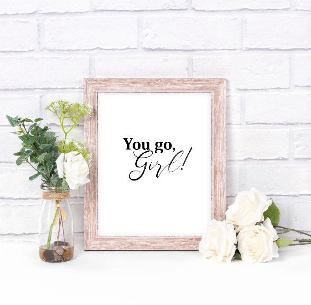 Free Printables For Your Walls - Motivational Quote For Women - Easy Canvas Ideas With Free Downloadable Artwork and Quote Sayings - Best Free Prints for Wall Art and Picture to Print for Home and Bedroom Decor - Signs for the Home, Organization, Office - Quotes for Bedroom and Kitchens, Vintage Bathroom Pictures - Downloadable Printable for Kids - DIY and Crafts by DIY JOY #wallart #freeprintables #diyideas #diyart #walldecor #diyhomedecor #freeprintables