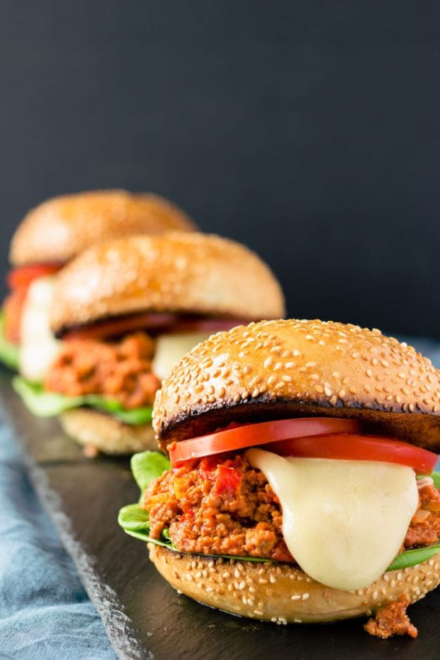 Best Recipes With Ground Beef - Paleo Sloppy Joes - Easy Dinners and Ground Beef Recipe Ideas - Quick Lunch Salads, Casseroles, Tacos, One Skillet Meals - Healthy Crockpot Foods With Hamburger Meat - Mexican Casserole, Instant Pot Carne Molida, Low Carb and Keto Diet - Rice, Pasta, Potatoes and Crescent Rolls #groundbeef #beefrecipes #beedrecipe #dinnerideas #dinnerrecipes http://diyjoy.com/best-recipes-ground-beef