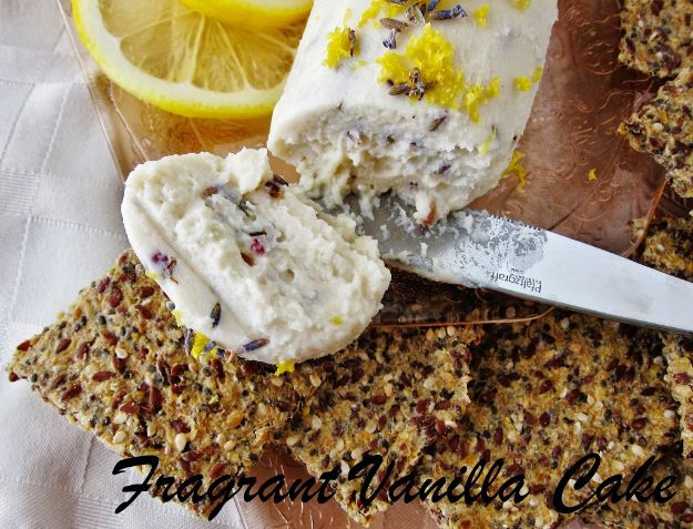 Best Recipes for the Cheese Lover - Raw Lavender Lemon Chevre - Easy Recipe Ideas With Cheese - Homemade Appetizers, Dips, Dinners, Snacks, Pasta Dishes, Healthy Lunches and Soups Made With Your Favorite Cheeses - Ricotta, Cheddar, Swiss, Parmesan, Goat Chevre, Mozzarella and Feta Ideas - Grilled, Healthy, Vegan and Vegetarian #cheeserecipes #recipes #recipeideas #cheese #cheeserecipe