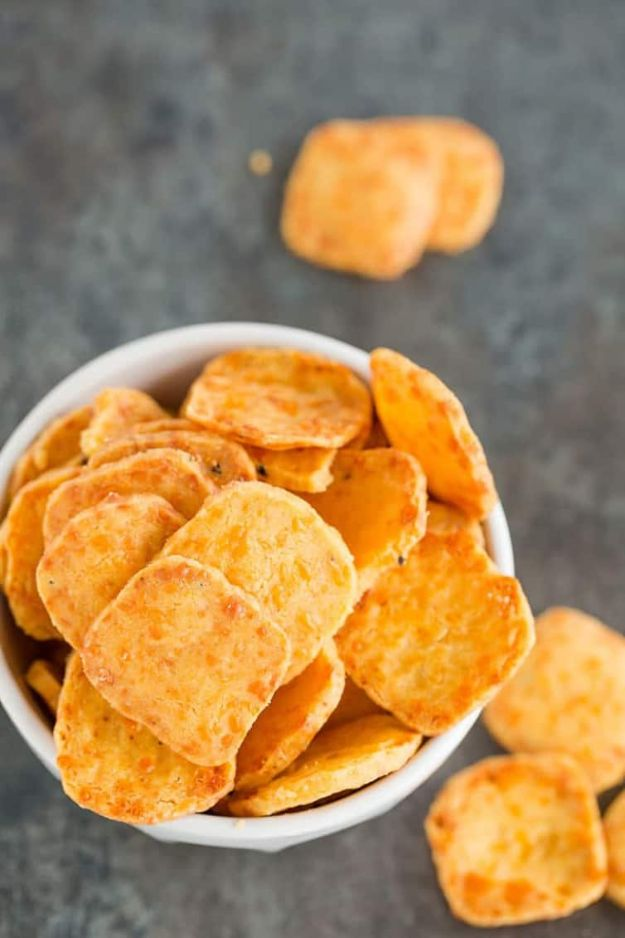 Best Recipes for the Cheese Lover - Spicy Southern Cheese Crackers - Easy Recipe Ideas With Cheese - Homemade Appetizers, Dips, Dinners, Snacks, Pasta Dishes, Healthy Lunches and Soups Made With Your Favorite Cheeses - Ricotta, Cheddar, Swiss, Parmesan, Goat Chevre, Mozzarella and Feta Ideas - Grilled, Healthy, Vegan and Vegetarian #cheeserecipes #recipes #recipeideas #cheese #cheeserecipe