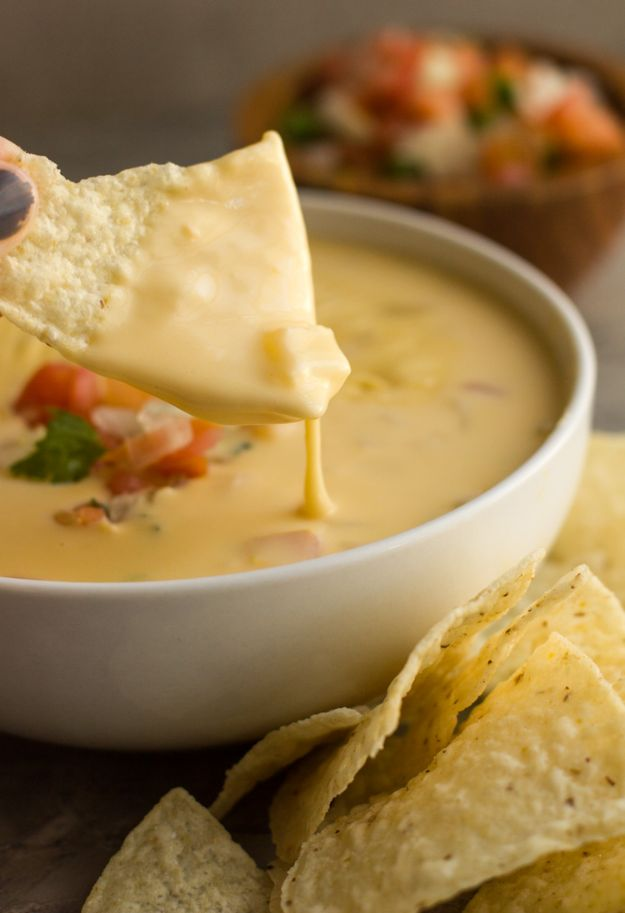 Best Mexican Food Recipes - Tex-Mex Queso – Homemade Authentic Mexican Version - Mexican Beef Soup - Authentic Mexican Foods and Recipe Ideas for Casseroles, Quesadillas, Tacos, Appetizers, Tamales, Enchiladas, Crockpot, Chicken, Beef and Healthy Foods - Desserts and Dessert Ideas Like Churros , Flan amd Sopapillas #recipes #mexicanfood #mexicanrecipes #recipeideas #mexicandishes http://diyjoy.com/mexican-food-recipes