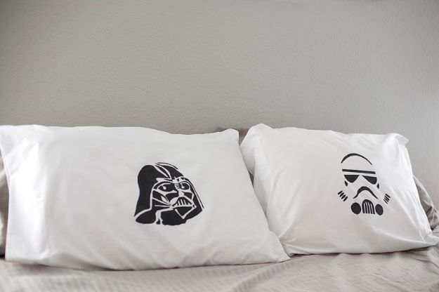DIY Gifts for Him - Theme Pillow - Homemade Gift Ideas for Guys - DYI Christmas Gift for Dad, Boyfriend, Husband Brother - Easy and Cheap Handmade Presents Birthday https://diyjoy.com/diy-gifts-for-him