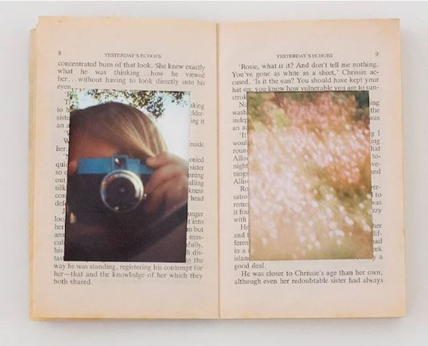 DIY Photo Albums - Upcycle an Old Book Into a Neat Photo Album - Easy DIY Christmas Gifts for Grandparents, Friends, Him or Her, Mom and Dad - Creative Ideas for Making Wall Art and Home Decor With Photos