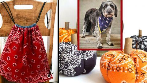 34 DIY Ideas With Bandanas | DIY Joy Projects and Crafts Ideas