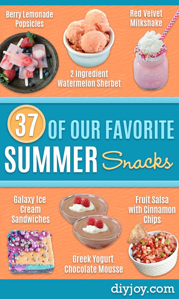 Best Summer Snacks and Snack Recipes - Quick And Easy Snack Ideas for After Workout, School, Work - Mid Day Treats, Best Small Desserts, Simple and Fast Things To Make In Minutes - Healthy Snacking Foods Made With Vegetables, Cheese, Yogurt, Fruit and Gluten Free Options - Kids Love Making These Sweets, Popsicles, Drinks, Smoothies and Fun Foods - Refreshing and Cool Options for Eating Outside on a Hot Day  #summer #snacks #snackrecipes #appetizers