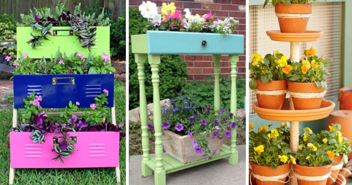 36 Outdoor Planters For The Patio, Patio Planters Ideas