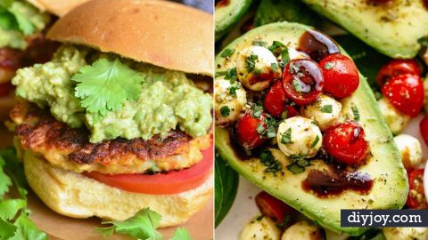 34 Yummiest Avocado Recipes | DIY Joy Projects and Crafts Ideas