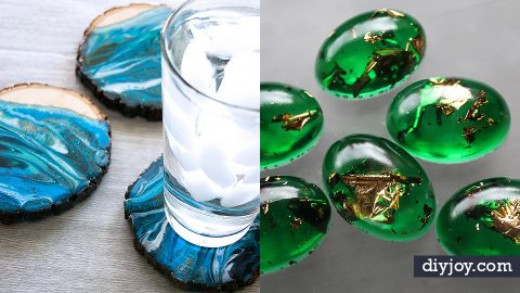 34 DIY Resin Casting Crafts | DIY Joy Projects and Crafts Ideas