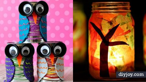 34 Fun Fall Crafts for Kids | DIY Joy Projects and Crafts Ideas