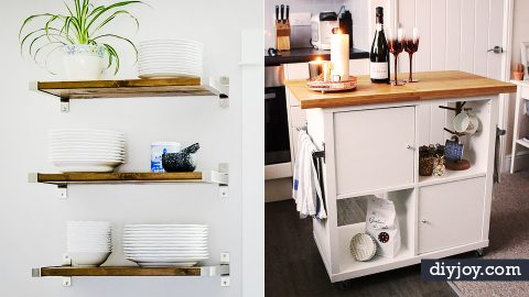 34 IKEA Hacks for Your Kitchen | DIY Joy Projects and Crafts Ideas