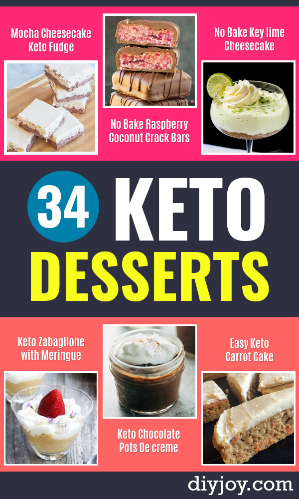 34 Keto Desserts You Will Make More Than Twice