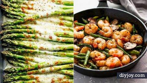 35 Asparagus Recipes for A Healthy Green Vegetable Fix | DIY Joy Projects and Crafts Ideas