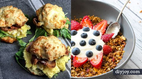 38 Keto Breakfasts To Start Your Morning Off Right | DIY Joy Projects and Crafts Ideas