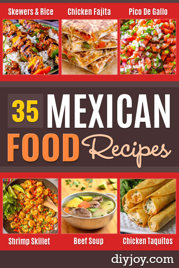 Best Mexican Food Recipes - Homemade Authentic Mexican Version - Mexican Beef Soup - Authentic Mexican Foods and Recipe Ideas for Casseroles, Quesadillas, Tacos, Appetizers, Tamales, Enchiladas, Crockpot, Chicken, Beef and Healthy Foods - Desserts and Dessert Ideas Like Churros , Flan amd Sopapillas #recipes #mexicanfood #mexicanrecipes #recipeideas #mexicandishes http://diyjoy.com/mexican-food-recipes
