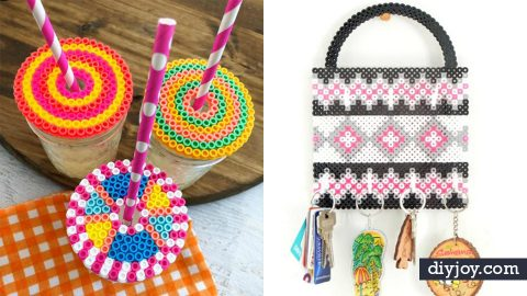 35 Perler Bead Crafts | DIY Joy Projects and Crafts Ideas