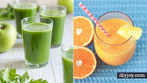 35 Refreshing DIY Juice Recipes | DIY Joy Projects and Crafts Ideas