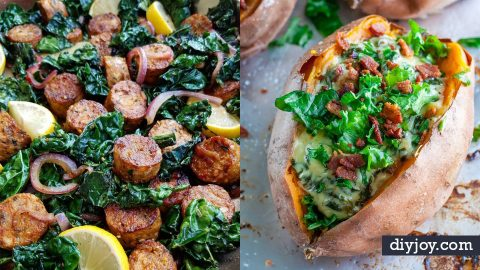 36 Kale Recipes That Will Add A Healthy Twist to Dinner   DIY Joy Projects and Crafts Ideas