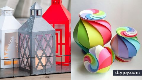 40 Creative Paper Crafts Ideas | DIY Joy Projects and Crafts Ideas