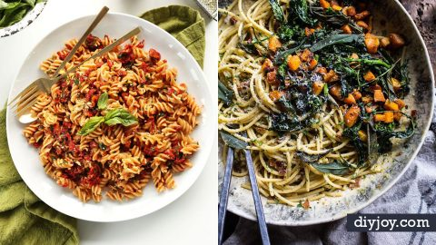 41 Pasta Recipes To Try Today | DIY Joy Projects and Crafts Ideas