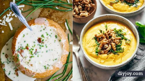 50 Best Soup Recipes To Warm You Up This Fall   DIY Joy Projects and Crafts Ideas
