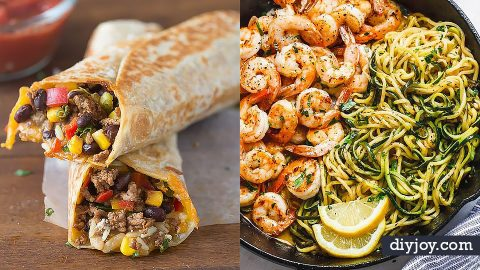 50 Easy Dinner Recipes To Try Tonight | DIY Joy Projects and Crafts Ideas