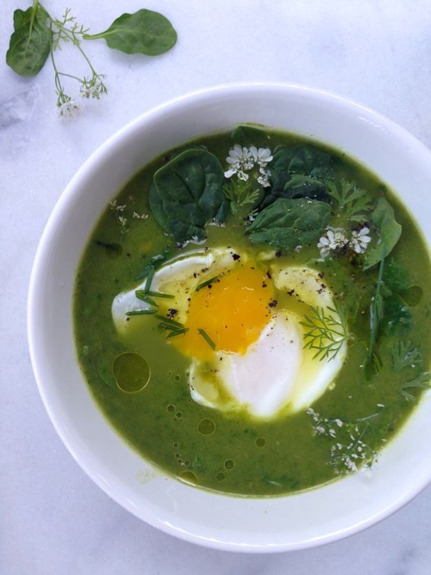 Soup Recipes - Broccoli Spinach Soup - Healthy Soups and Recipe Ideas - Easy Slow Cooker Dishes, Soup Recipe for Chicken, Sausage, With Ground Beef, Potato, Vegetarian, Mexican and Asian Varieties - Creamy Soups for Winter and Fall - Low Carb and Keto Meals - Quick Bean Soup and Copycat Recipes #soup #recipes