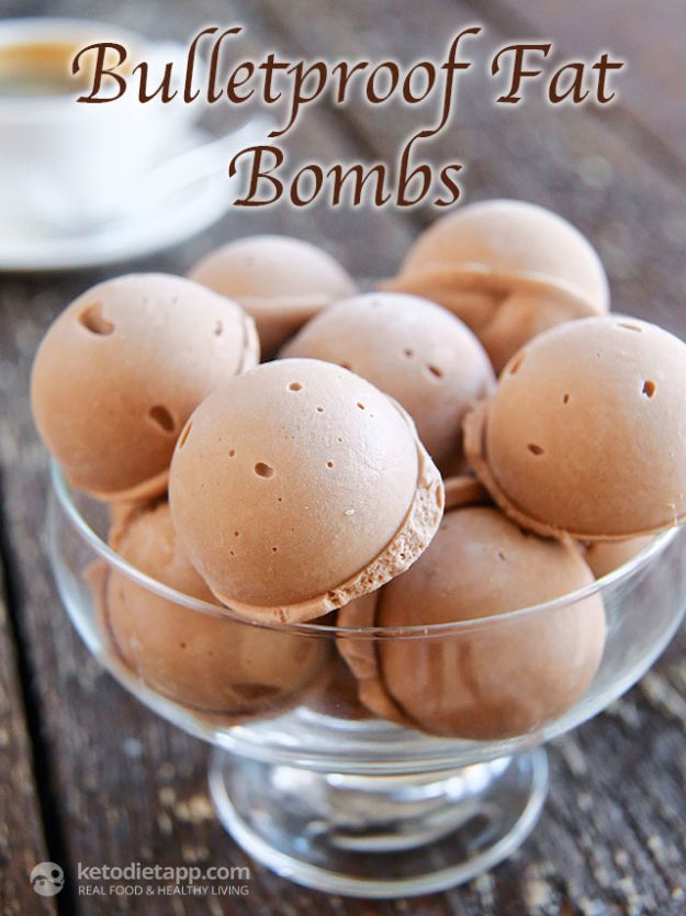 Keto Fat Bombs and Best Ketogenic Recipe Ideas to Make At Home - Bulletproof Fat Bombs - Easy Recipes With Peanut Butter, Cream Cheese, Chocolate, Coconut Oil, Coffee - low carb fat bombs #keto #ketorecipes