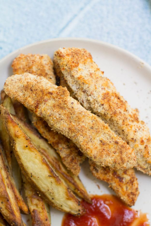 Easy Healthy Chicken Recipes - Clean Eating Chicken Tenders - Lunch and Dinner Ideas, Party Foods and Casseroles, Idea for the Grill and Salads- Chicken Breast, Baked, Roastedf and Grilled Chicken - Add Shrimp, Penne Pasta, Beef, Sausage - Glazed, Barbecue and Instant Pot, Crockpot Chicken Dishes and Recipe Ideas http://diyjoy.com/easy-healthy-chicken-recipes