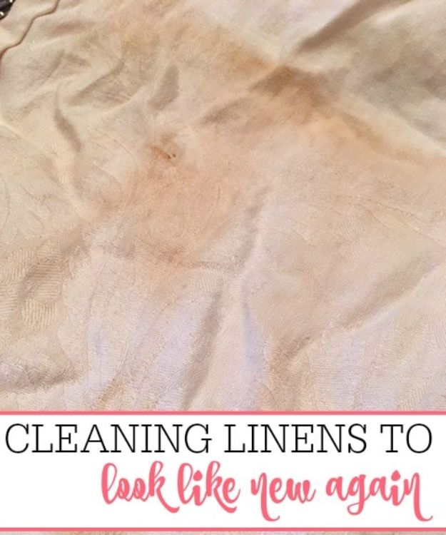 Laundry Hacks - Cleaning Linens So They Look Like New - Cool Tips for Busy Moms and Laundry Lifehacks - Laundry Room Organizing Ideas, Storage and Makeover - Folding, Drying, Cleaning and Stain Removal Tips for Clothes - How to Remove Stains, Paint, Ink and Smells - Whitening Tricks and Solutions - DIY Products and Recipes for Clothing Soaps http://diyjoy.com/laundry-hacks