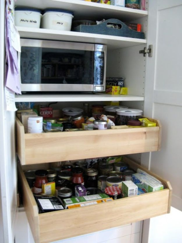 IKEA Hacks for Your Kitchen - Customized Kitchen Pantry - DIY Furniture and Kitchen Accessories Made from IKEA - Kitchen Islands, Cabinets, Table, Pantry Organization, Storage, Shelves and Counter Solutions - Bar, Buffet and Entertaining Ideas - Easy Projects With Step by Step Tutorials and Instructions to Hack IKEA items #ikea #ikeahacks #diyhomedecor #diyideas #diykitchen