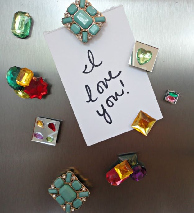 Cheap DIY Gift Ideas - DIY Bead Magnets - List of Handmade Gifts on A Budget and Inexpensive Christmas Presents - Do It Yourself Gift Idea for Family and Friends, Mom and Dad, For Guys and Women, Boyfriend, Girlfriend, BFF, Kids and Teens - Dollar Store and Dollar Tree Crafts, Home Decor, Room Accessories and Fun Things to Make At Home http://diyjoy.com/cheap-diy-gift-ideas
