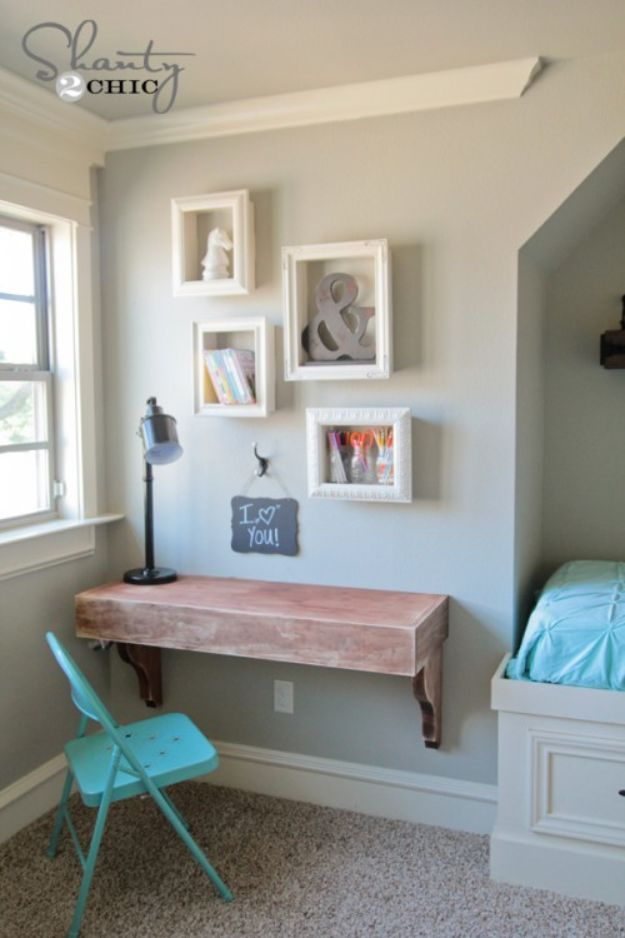 DIY Home Decor On A Budget - DIY Frame Shelves - Cheap Home Decorations to Make From The Dollar Store and Dollar Tree - Inexpensive Budget Friendly Wall Art, Furniture, Table Accents, Rugs, Pillows, Bedding and Chairs - Candles, Crafts To Make for Your Bedroom, Pretty Signs and Art, Linens, Storage and Organizing Ideas for Apartments #diydecor #decoratingideas #cheaphomedecor