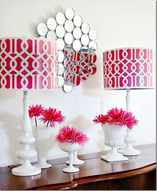 Dollar Tree Crafts - DIY Wall Mirror - DIY Ideas and Crafts Projects From Dollar Tree Stores - Easy Organizing Project Tutorials and Home Decorations- Cheap Crafts to Make and Sell #dollarstore #dollartree #dollarstorecrafts #cheapcrafts #crafts #diy #diyideas