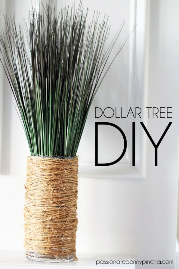 Dollar Tree Crafts - Dollar Tree DIY - DIY Ideas and Crafts Projects From Dollar Tree Stores - Easy Organizing Project Tutorials and Home Decorations- Cheap Crafts to Make and Sell