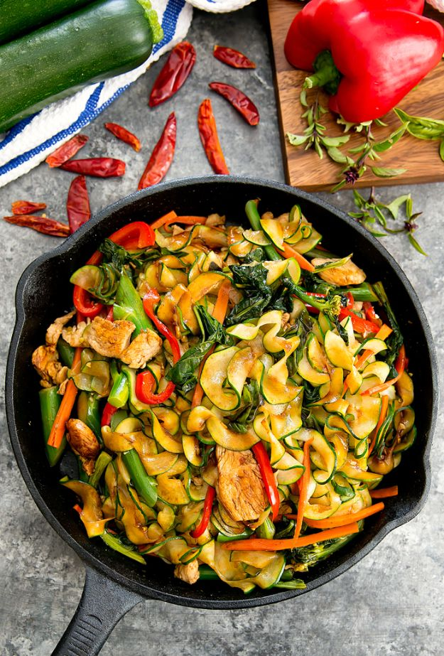 Veggie Noodle Recipes - Drunken Zucchini Noodles - How to Cook With Veggie Noodles - Healthy Pasta Recipe Ideas - How to Make Veggie Noodles With Carrots and Zucchini - Vegan, Vegetarian , Keto and Low Carb Dishes for Your Diet - Meatballs, Chicken, Cheese, Asian Stir Fry, Salad and Raw Preparations #veggienoodles #recipes #keto #lowcarb #ketorecipes #veggies #healthyrecipes #veganrecipes