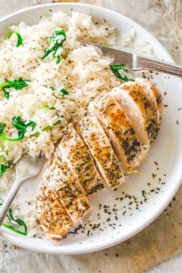 Chicken Breast Recipes - Easy Baked Chicken Breasts - Healthy, Easy Chicken Recipes for Dinner, Lunch, Parties and Quick Weeknight Meals - Boneless Chicken Breast Casserole Recipes, Oven Baked Ideas, Crockpot Chicken Breasts, Marinades for Grilled Foods, Salads, Shredded Chicken Tacos, Creamy Pasta, Keto and Low Carb, Mexican, Asian and Italian Food #chicken #recipes #healthy