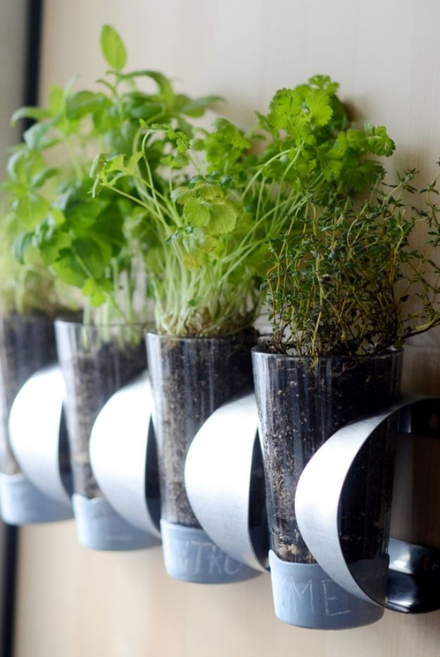 IKEA Hacks for Your Kitchen - Indoor Herb Garden IKEA Hack - DIY Furniture and Kitchen Accessories Made from IKEA - Kitchen Islands, Cabinets, Table, Pantry Organization, Storage, Shelves and Counter Solutions - Bar, Buffet and Entertaining Ideas - Easy Projects With Step by Step Tutorials and Instructions to Hack IKEA items http://diyjoy.com/ikea-hacks-kitchen #ikeahacks #diyhomedecor #diyideas #diykitchen
