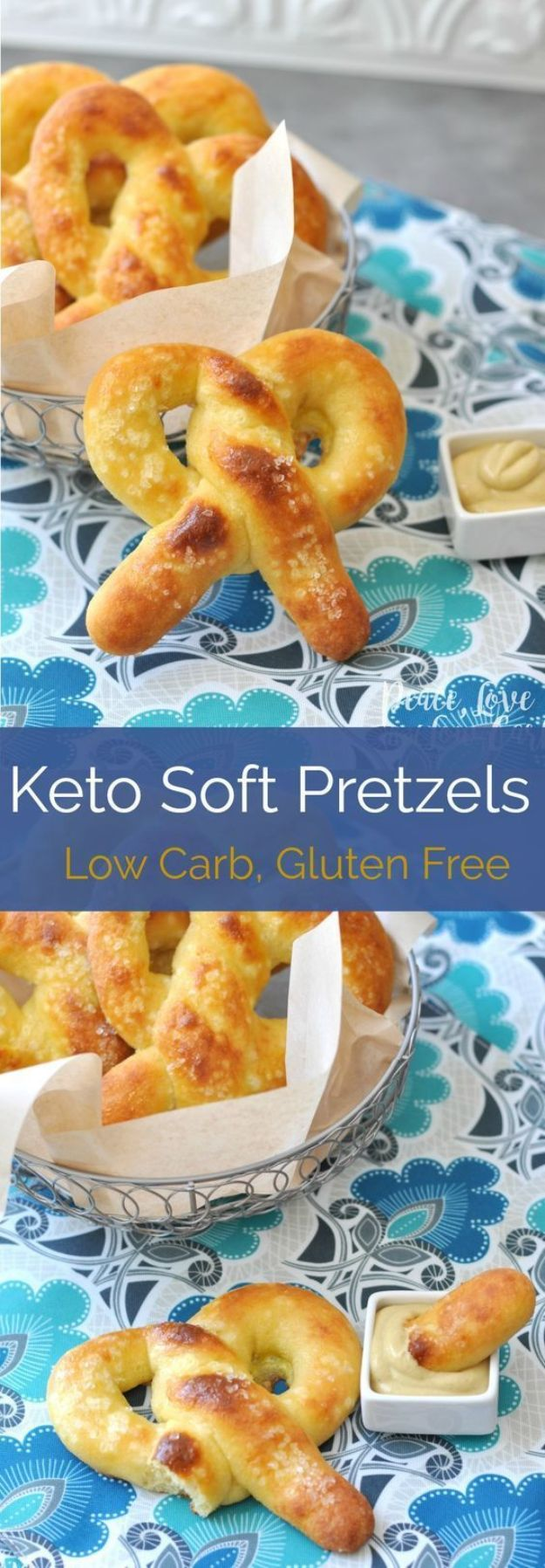 Keto Breakfast Recipes - Keto Soft Pretzel - Low Carb Breakfasts and Morning Meals for the Ketogenic Diet - Low Carbohydrate Foods on the Go - Easy Crockpot Recipes and Casserole - Muffins and Pancakes, Shake and Smoothie, Ideas With No Eggs http://diyjoy.com/keto-breakfast-recipes