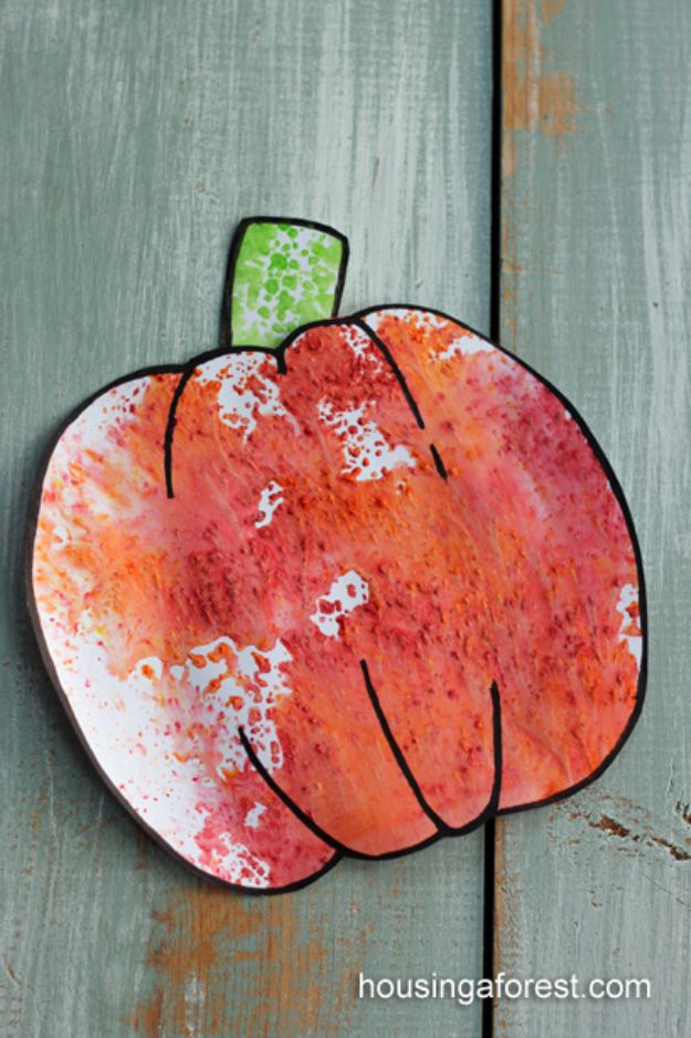 Fun Fall Crafts for Kids - Kool-Aid Pumpkins - Cool Crafts Ideas for Kids to Make With Paper, Glue, Leaves, Corn Husk, Pumpkin and Glitter - Halloween and Thanksgiving - Children Love Making Art, Paintings, Cards and Fall Decor - Placemats, Place Cards, Wall Art , Party Food and Decorations for Toddlers, Boys and Girls http://diyjoy.com/fun-fall-crafts-kids