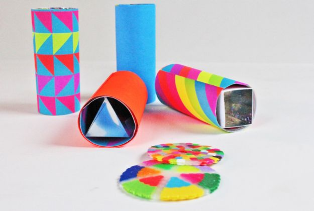 DIY perler bead crafts - Mini DIY Kaleidoscope - Easy Crafts With Perler Beads - Cute Accessories and Homemade Decor That Make Creative DIY Gifts - Plastic Melted Beads Make Cool Art for Walls, Jewelry and Things To Make When You are Bored #diy #crafts