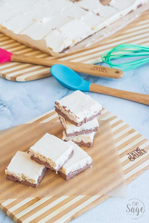 Keto Dessert Recipes - Mocha Cheesecake Keto Fudge - Easy Ketogenic Diet Dessert Recipes and Recipe Ideas - Shakes, Cakes In A Mug, Low Carb Brownies, Gluten Free Cookies #keto #ketorecipes #desserts