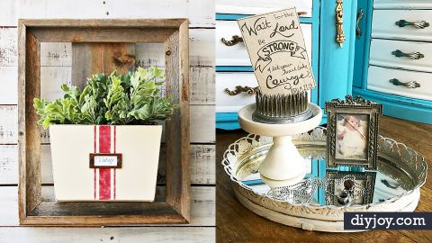 Our 50 Favorite Thrift Store Makeovers | DIY Joy Projects and Crafts Ideas